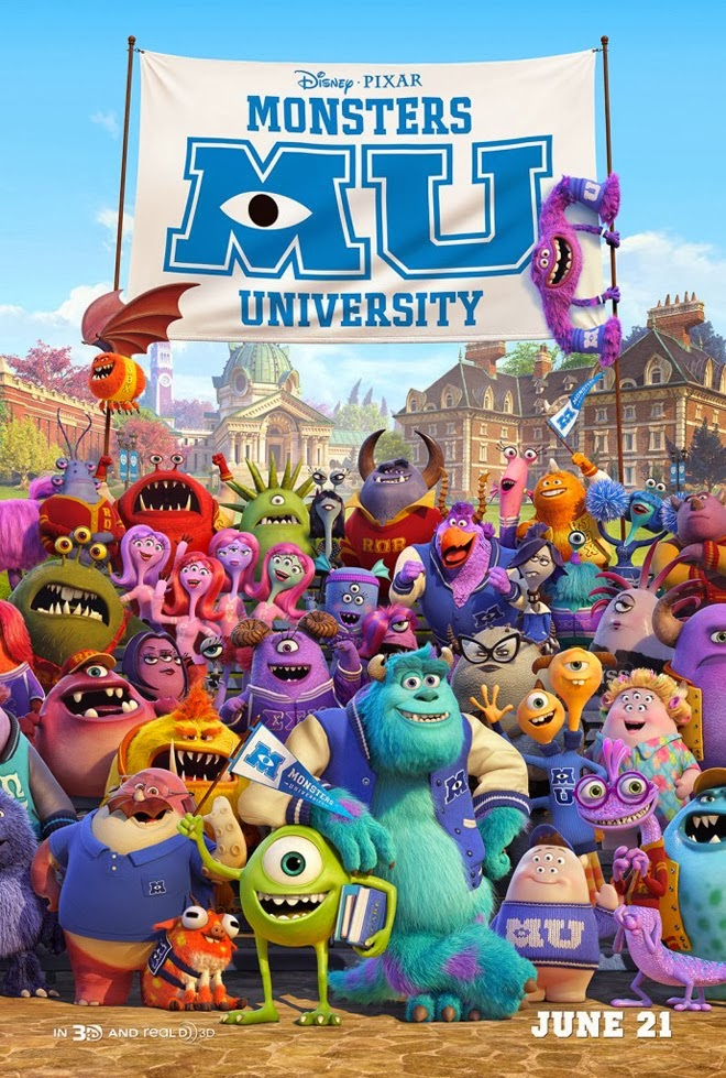 ดูการ์ตูน มหา ลัยมอนส์เตอร์ Monsters University