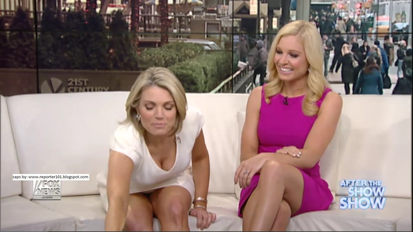 Fox business news upskirt