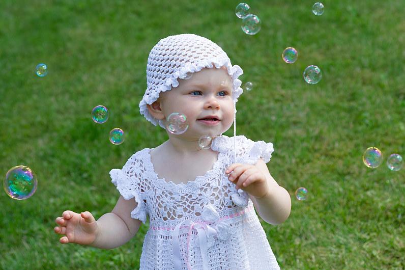 muilo burbulai per krikštynų fotosesiją