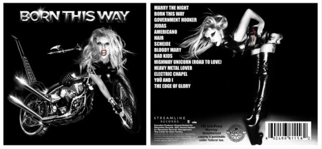 lady gaga born this way special edition cd. Lady Gaga - Born This Way