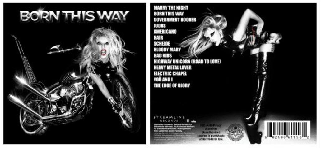 lady gaga born this way special edition album cover. Lady Gaga - Born This Way is