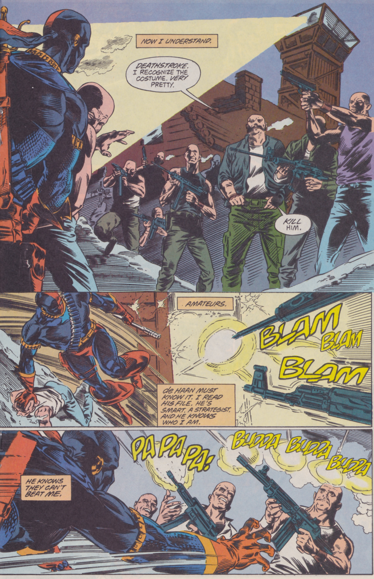 Deathstroke (1991) Issue #22 #27 - English 16