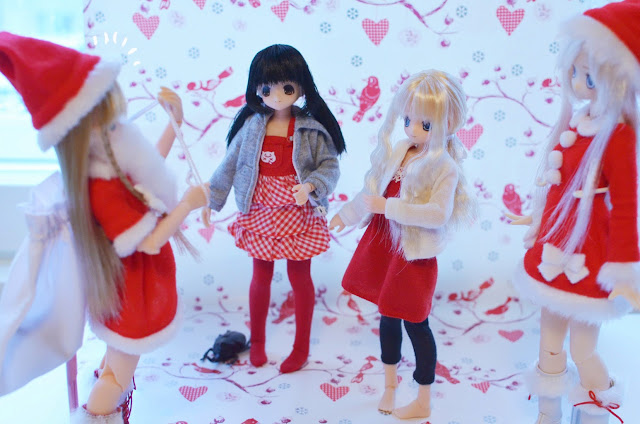 azone dolls christmas