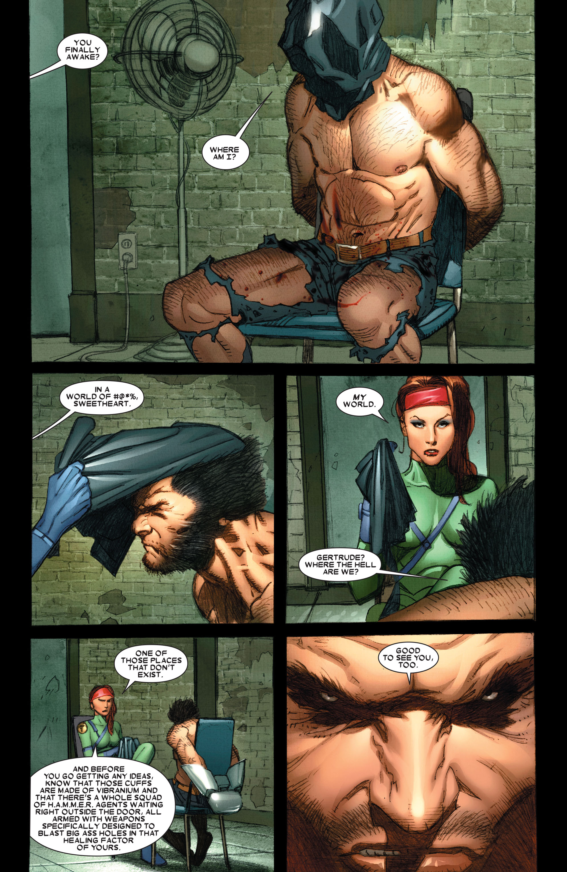 Wolverine: Weapon X #5 #12 - English 3
