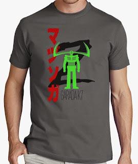 camiseta mazinger z boss garada k7