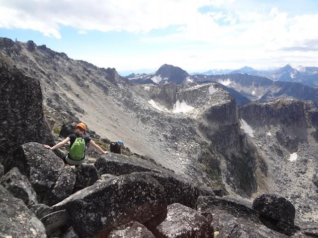 Scramble, Mt. Gandalf, Tolkien Group, BC, mountains