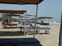 Ashvem beach beds