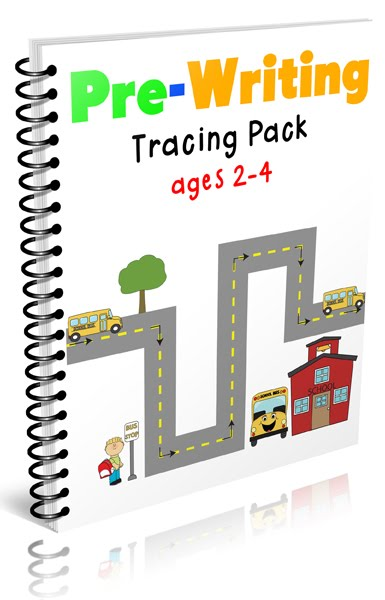 Pre-Writing Tracing Pack