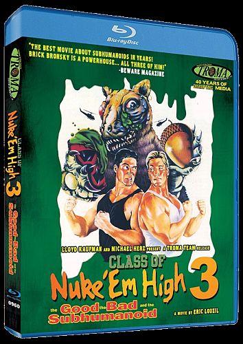 Class of Nuke 'Em High 3 Blu-ray