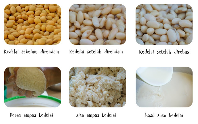 Susu Kedelai  ( Homemade Soy Milk )
