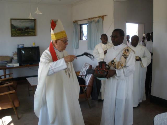 En la bendición de instalaciones diocesanas