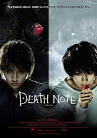 Capa do filme Death Note, baseado no mangá homônimo