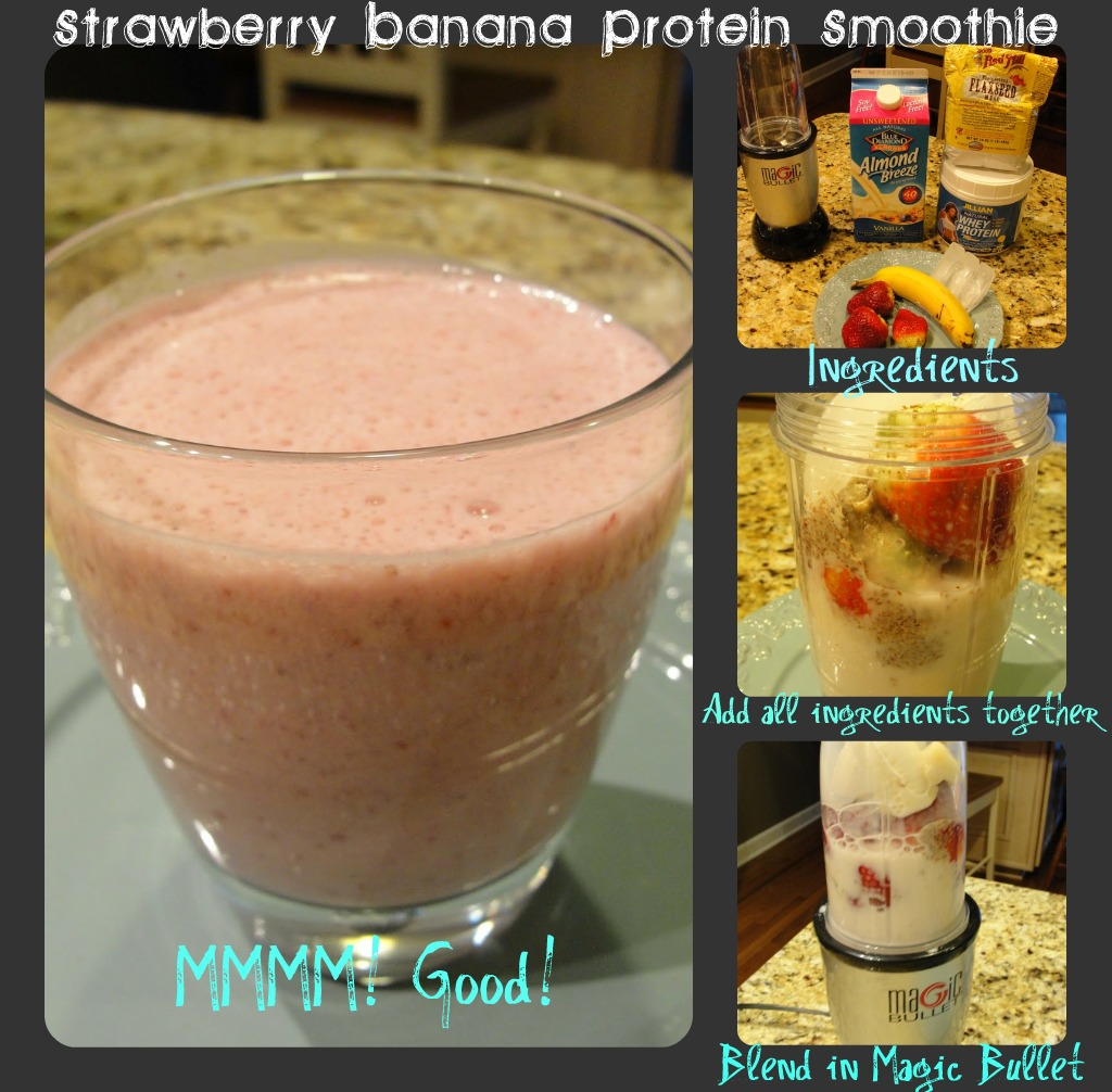 Swade Designs: After Workout Protein Smoothie