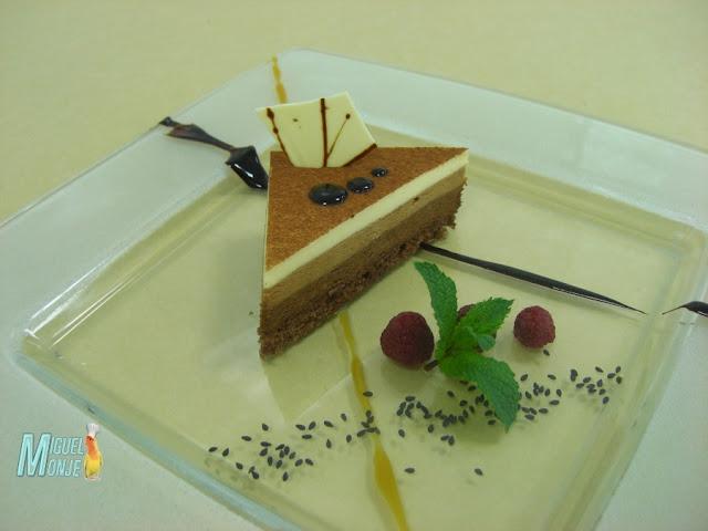 Recetas de Tartas Tres Chocolates