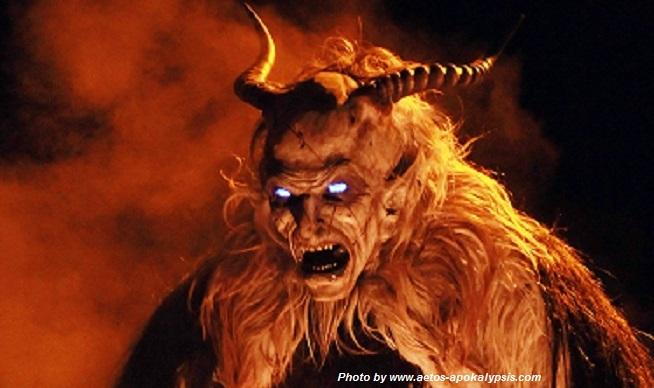 Τα ίχνη του διαβόλου  η επίσκεψη ενός απόκοσμου πλάσματος!