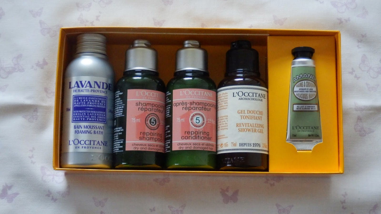 L'Occitane Instyle Shopping Event Haul Escape to Provence set