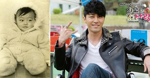 26 Foto Artis Korea Terpopuler Masa Kecil