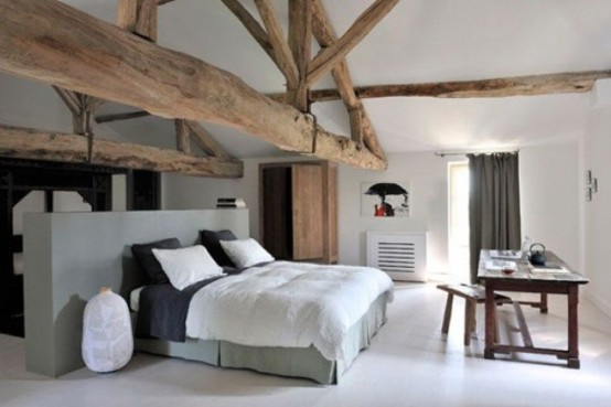 Amazing Stylish And Original Barn Bedroom Design Ideas ~ Home ...