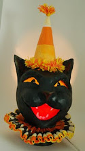 CandyCorn Cat Luminary