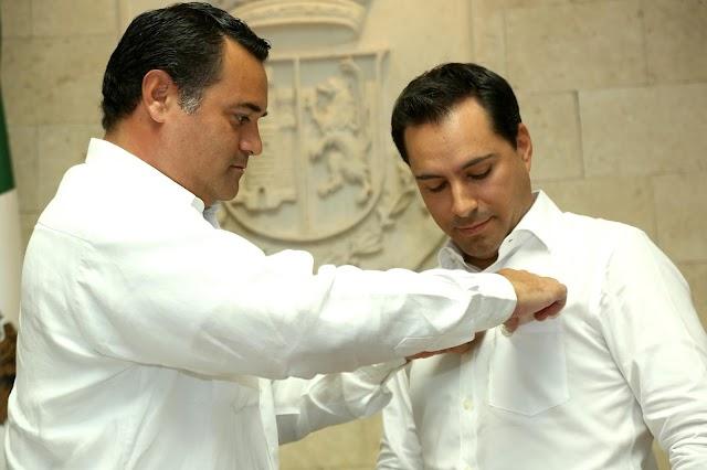 Recibes un Ayuntamiento en orden: Renán Barrera a Mauricio Vila