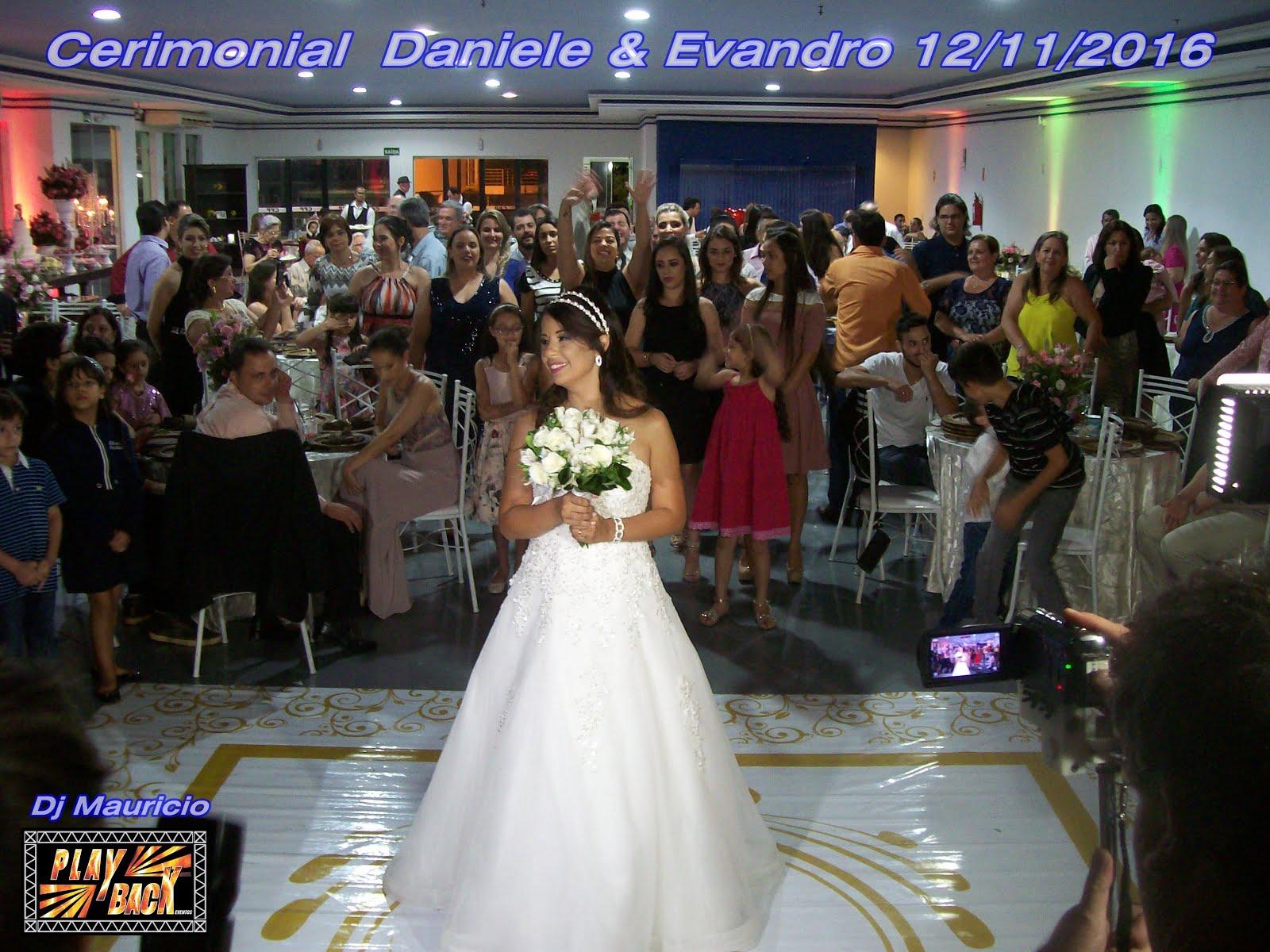 Casamento Daniele & Evandro