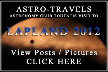Read Club's trip in Lappland Transit of Venus 2012