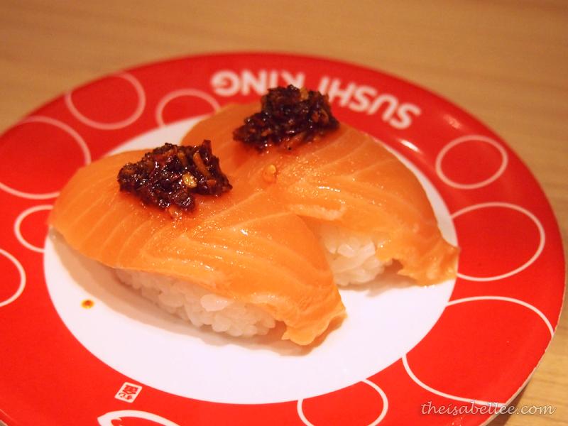 Sushi King Spicy Salmon Nigiri