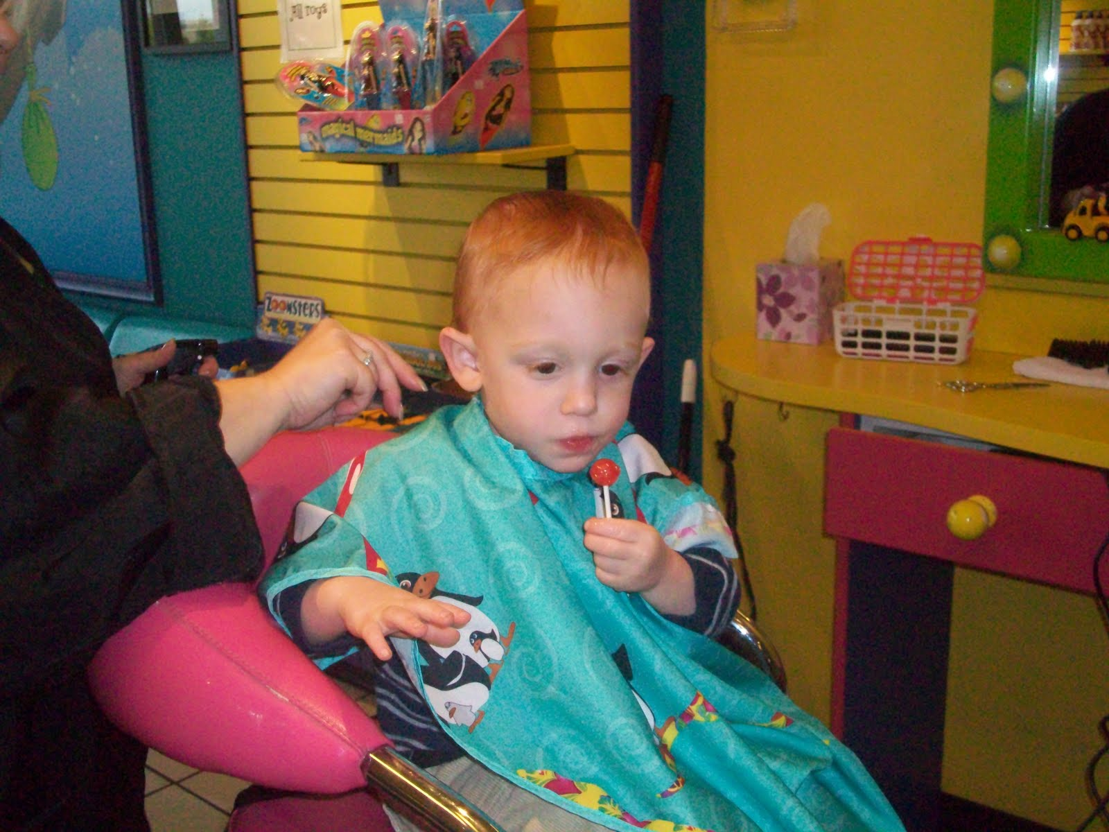 The Karlin Clan Snip Snip Jacobs First Haircut