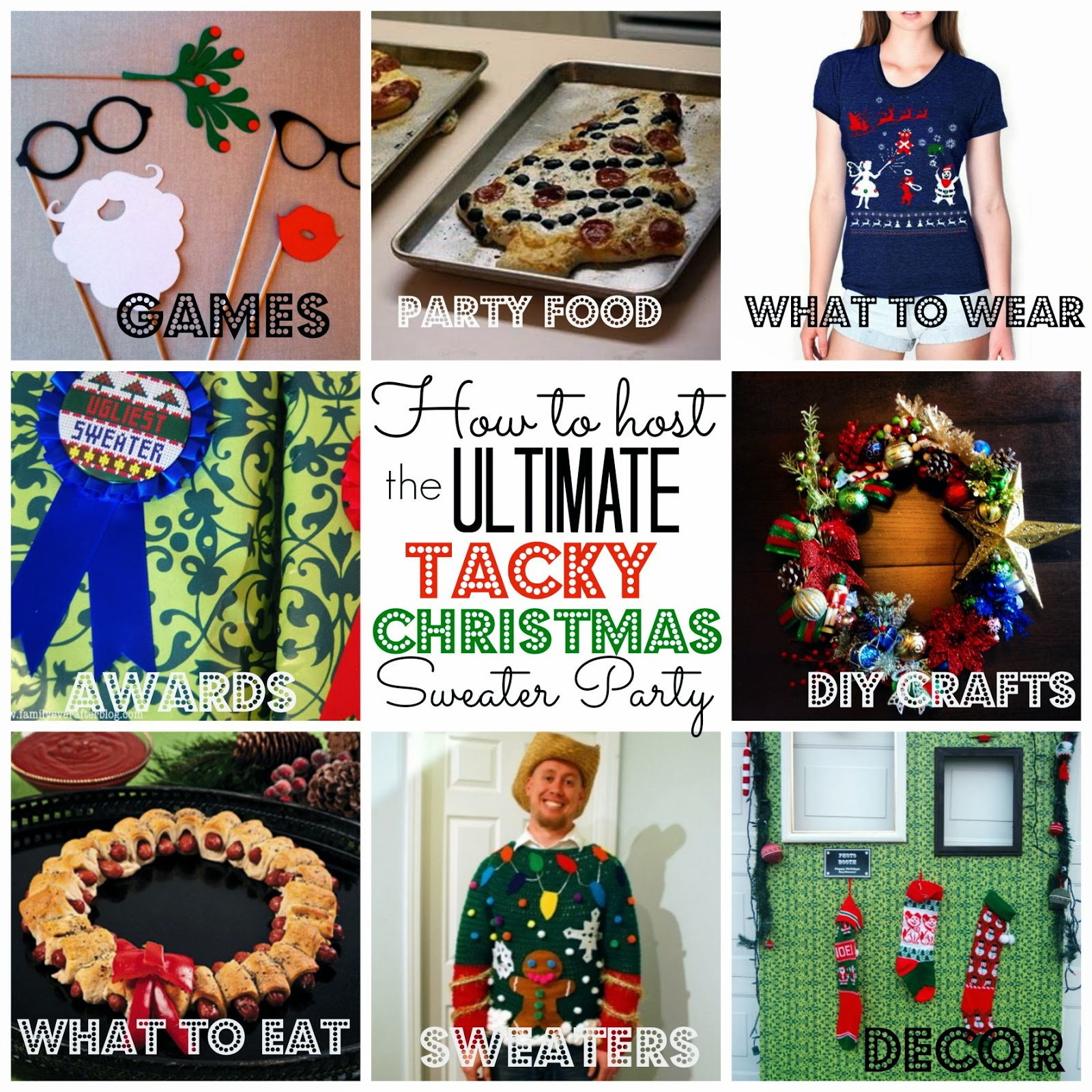Ugly Christmas Sweater Party Food Ideas Part - 24: If You Havenu0027t Heard Of A Tacky Christmas Sweater Party ...