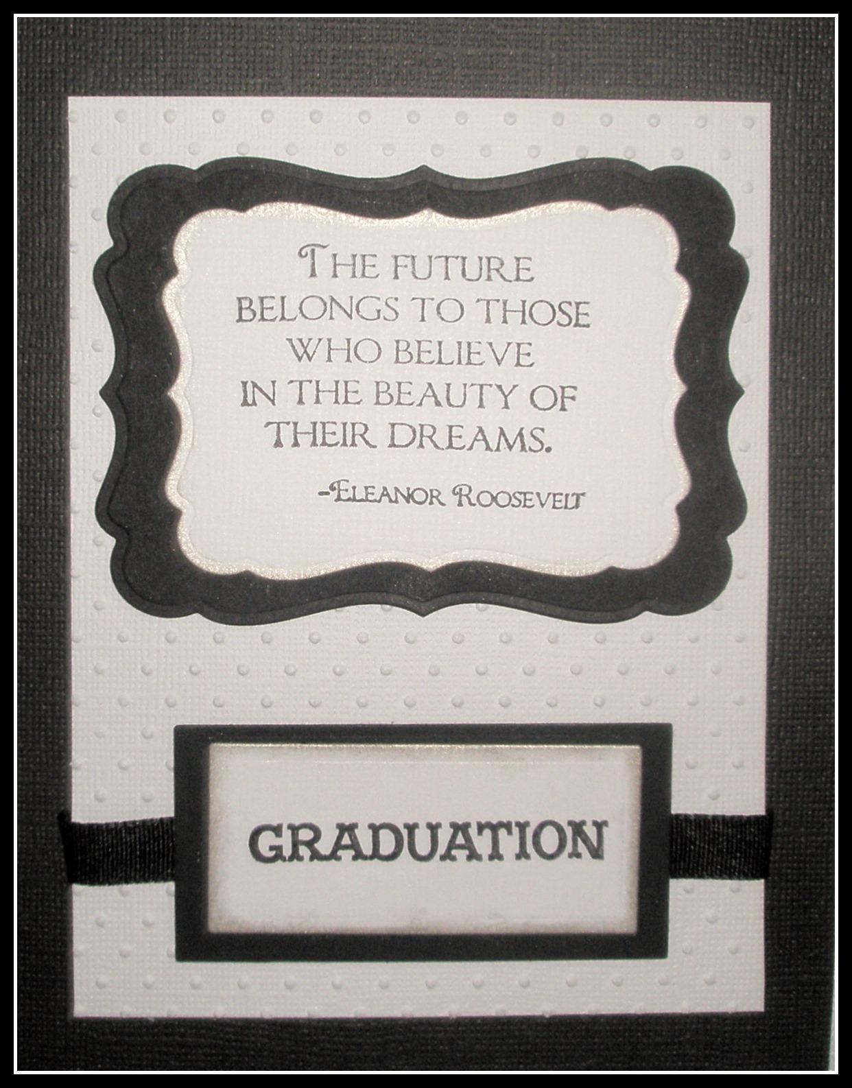 graduation announcement paper