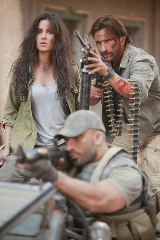 Complete cast and crew of Phantom  (2014) bollywood hindi movie wiki, poster, Trailer, music list -  Saif Ali Khan and Katrina Kaif