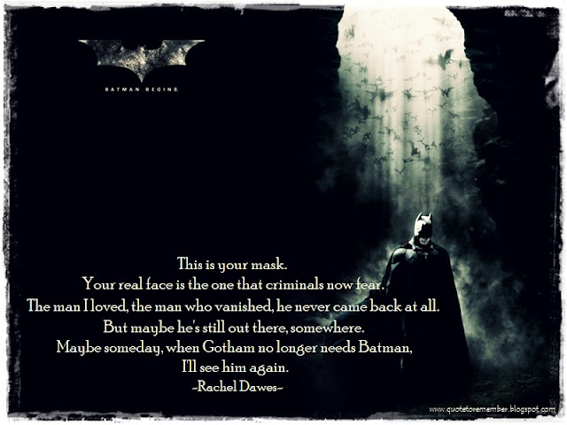 Quotes From Batman Beg...