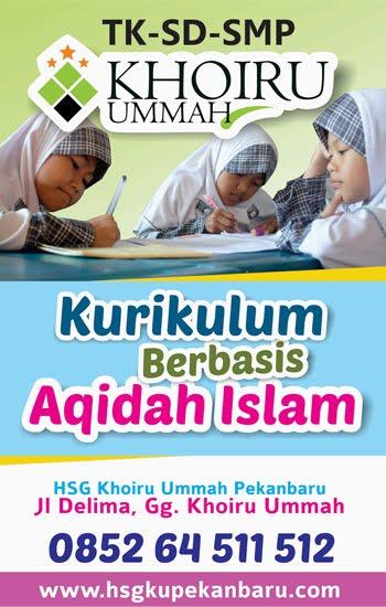 Sekolah Islam HSG Khoiru Ummah