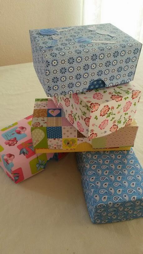 Schachtel basteln, Homeschool Blog, Bernice und Jan Zieba