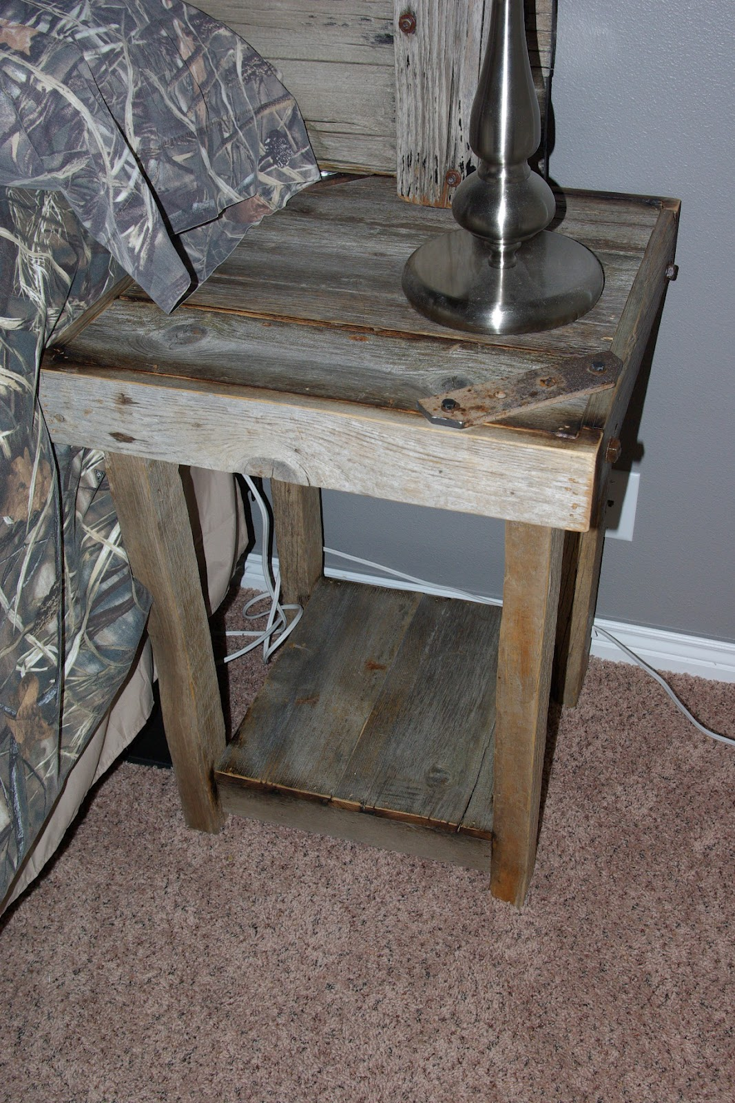 Inspirational Barn Wood End Tables