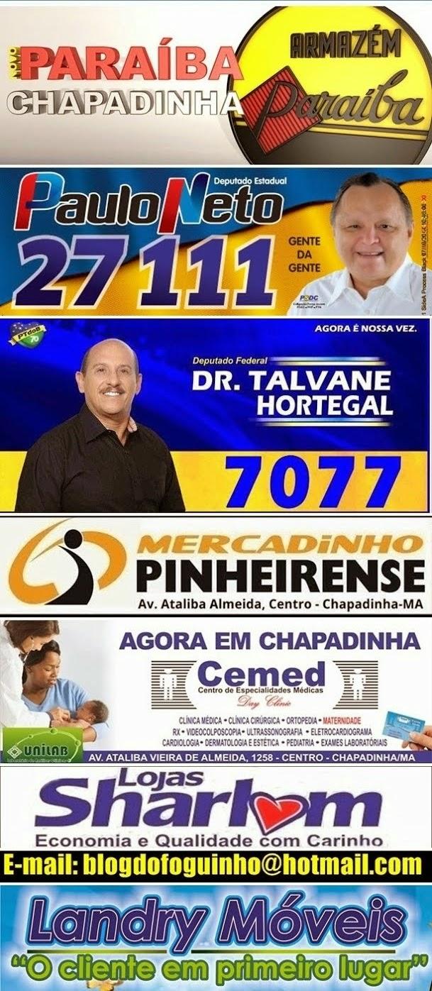 Blog do Foguinho nas eleições 2014.