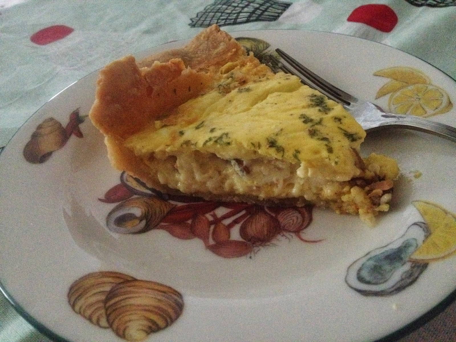 Ocean breezes country sneezes quiche basic delicious for The best quiche ever
