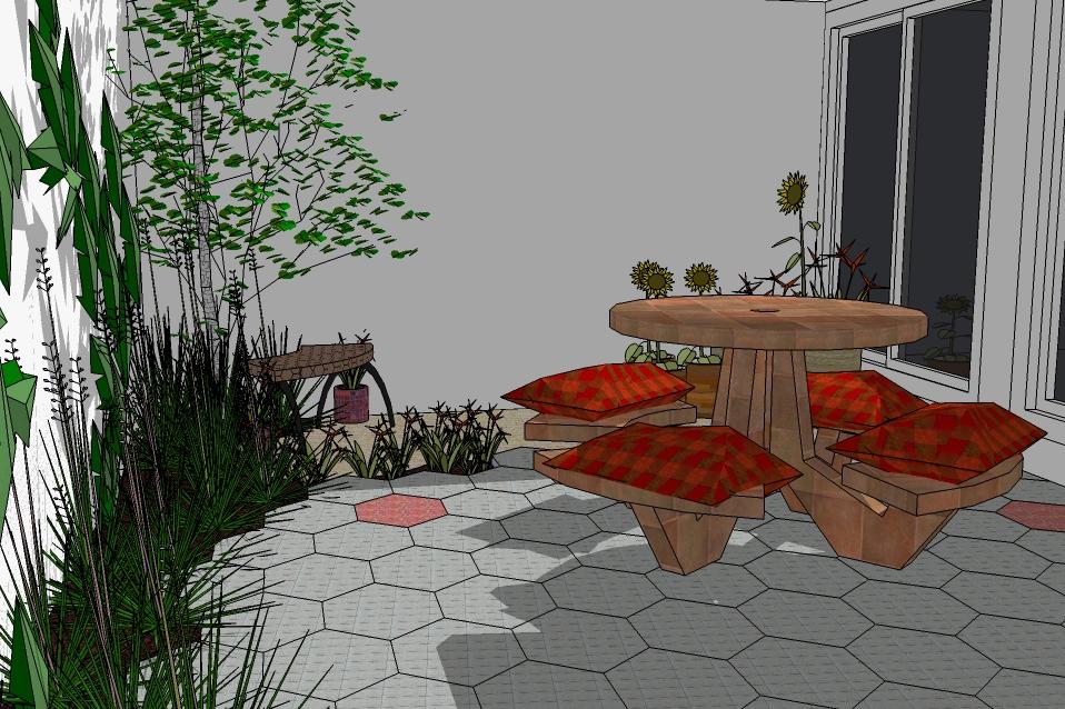 Enterreno algunos ejemplos de jardines que puedo dise ar for Ejemplos de jardines