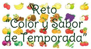 """RETO COLOR Y SABOR DE TEMPORADA"""