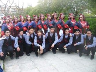παραδοσιακή φλόγα,Ίλιον,κοινωνικά,χορευτικός σύλλογος
