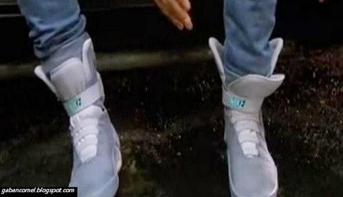 Nike Sediakan Kasut Yang Boleh Ikat Tali Automatik Mirip Kasut Marty McFly di Filem Back to The Future