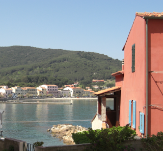 Road trip to Elba - Elba island coast, Marciana Marina. Driving in Europe on holiday