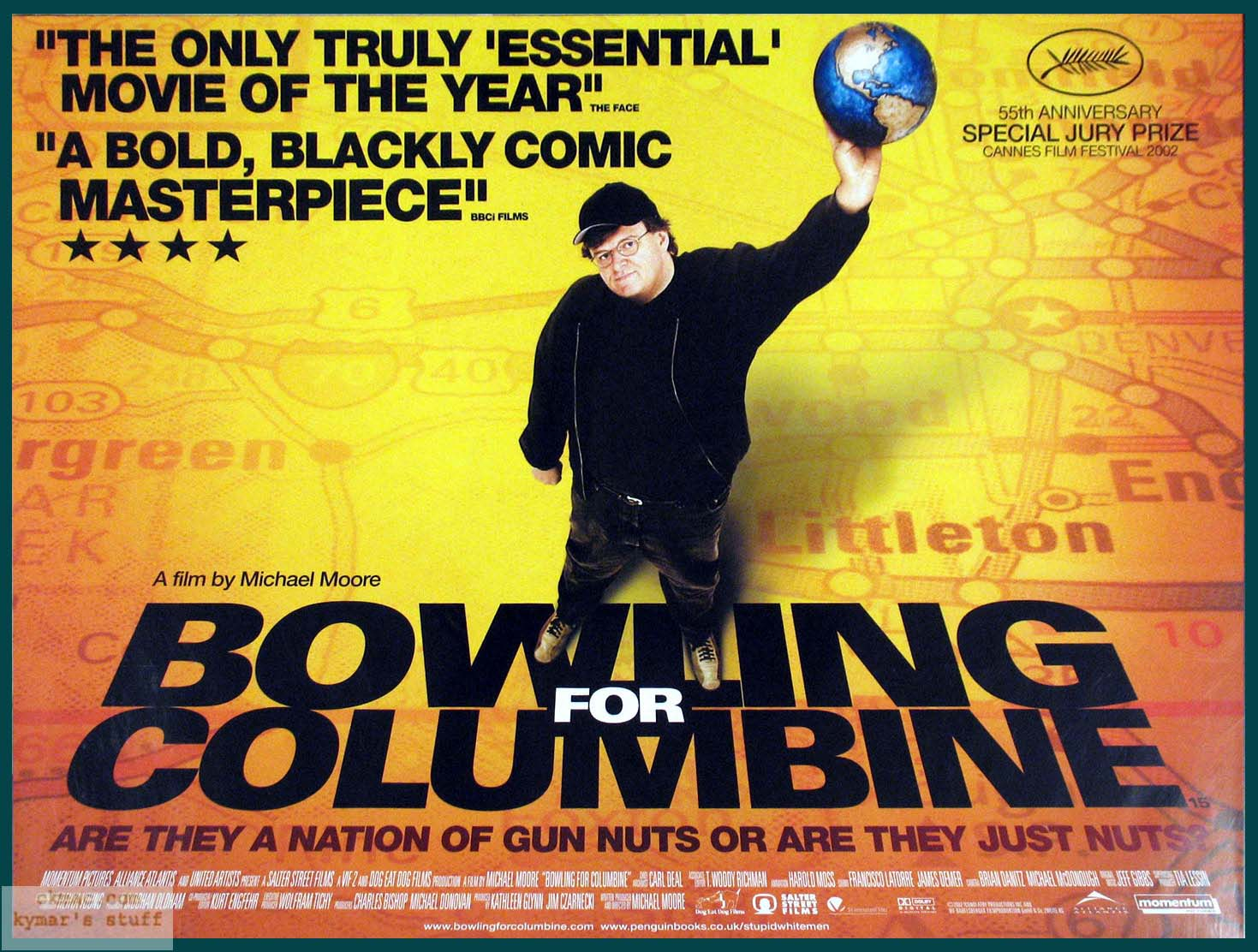 an introduction to the analysis of bowling for columbine Essays, michael moore a semiotic analysis of michael moore (c) with the commercial success of his documentary films bowling for columbine and fahrenheit 9.