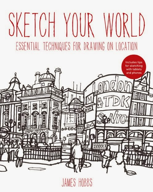 Sketch Your World will be published in January