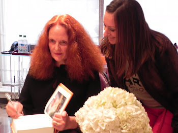 With Grace Coddington