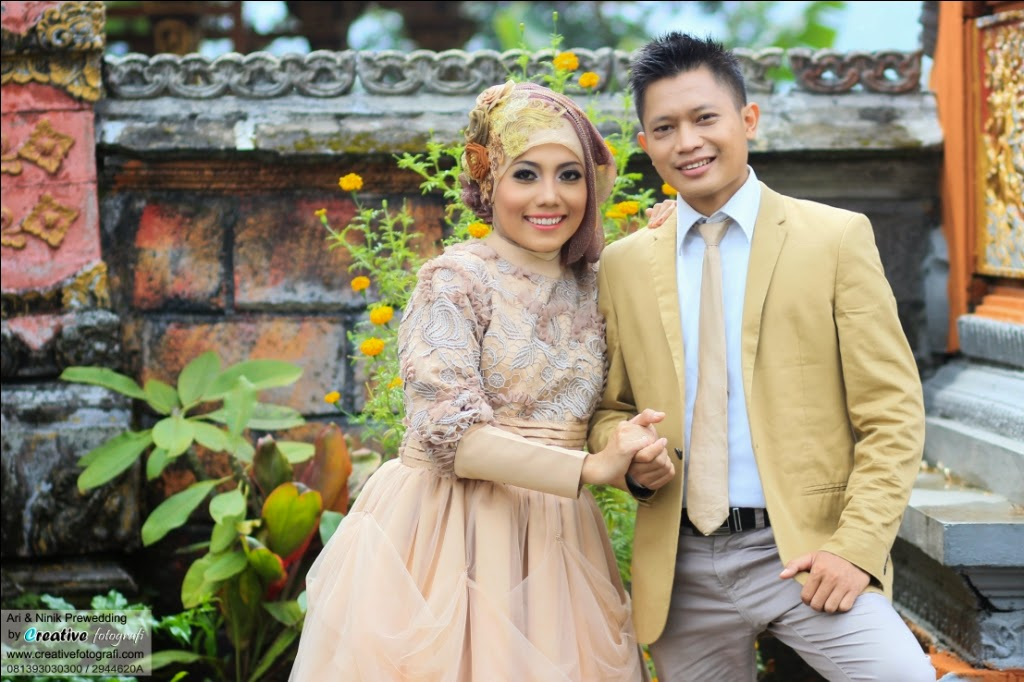 foto prewedding jogja tema formal gaun hijab