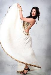 Chandrika Hot Unseen Cleavage Photo Shoot