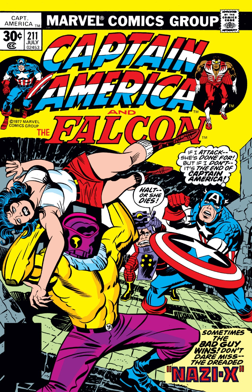 Captain America (1968) Issue #211 #125 - English 1