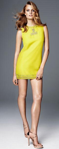 vestidos cortos primavera verano 2012