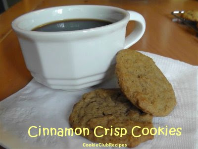 Cinnamon Crisp Cookies Recipe by CookieClubRecipes